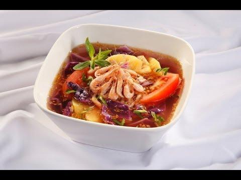 Món Ngon Mỗi Ngày - Canh chua bắp cải tím