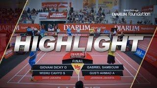 Giovani Dicky Wisnu Cahyo Exist Jakarta VS Gabriel Sambouw Gusti Ahmad Jaya Raya Jakarta
