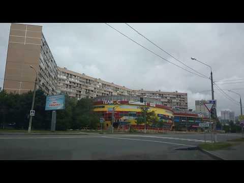 . Ярославка-Наукоград Королев. Поездка на автомобиле по городу