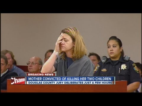 Castle Rock mother convicted of killing her 2 children