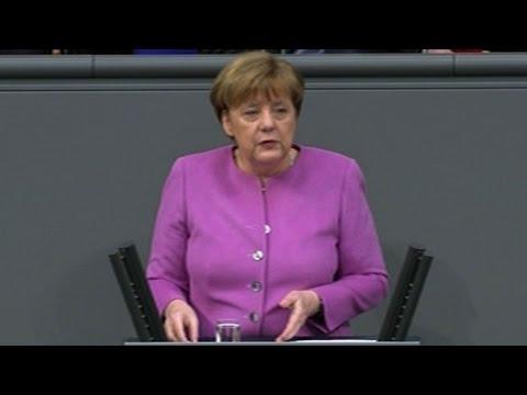 Merkel calls Turkey's 'Nazi' jibes 'sad and depressing'