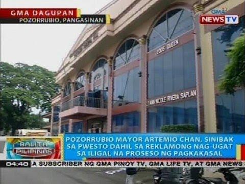 BP: Pozorrubio Mayor Artemio Chan, sinibak sa pwesto