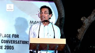 Cricket on and off the field, Harsha Bhogle at Manthan