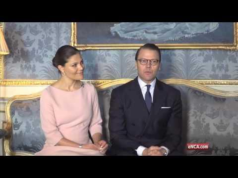 Swedish royals raise awareness of childhood obesity