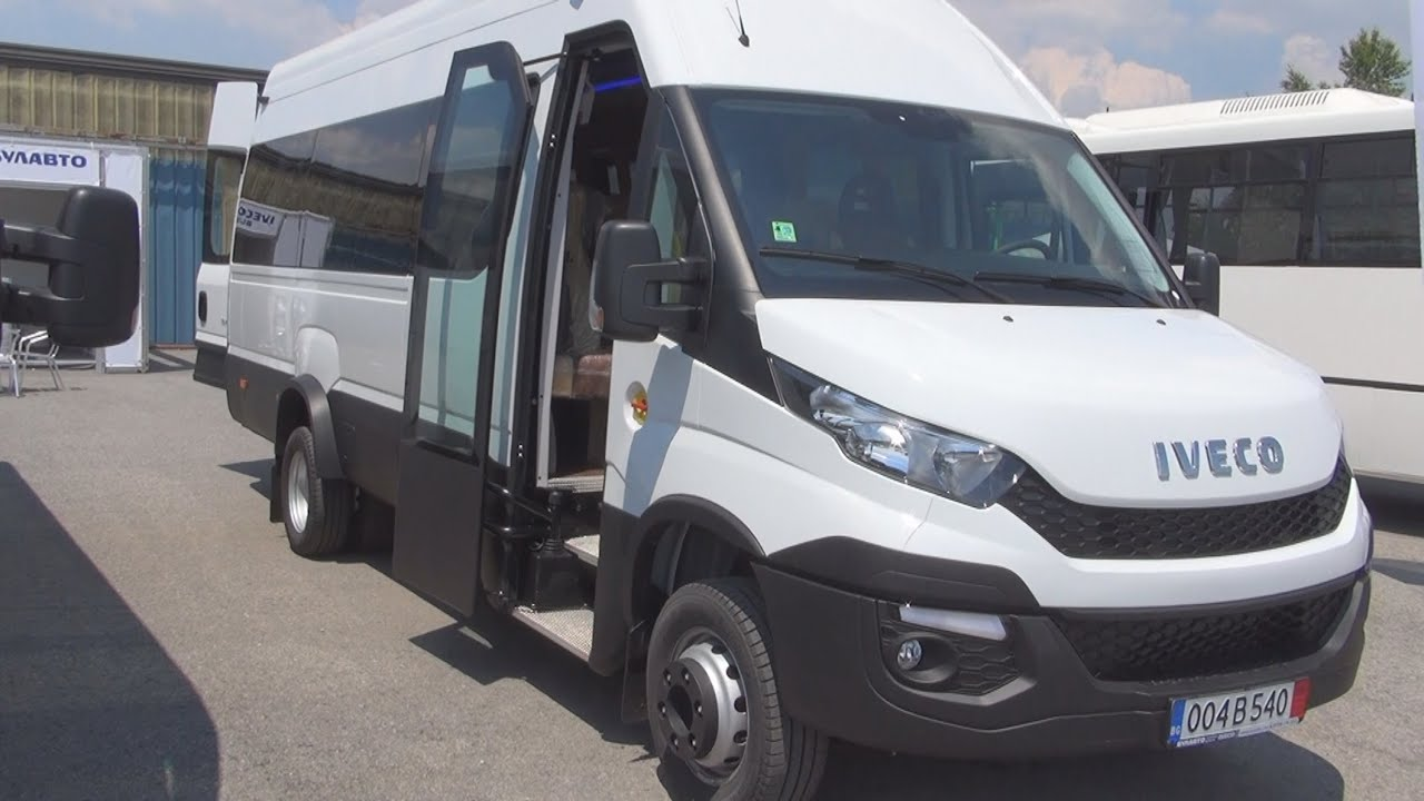 Iveco Daily 60C17 Bus (2015) Exterior and Interior in 3D - YouTube