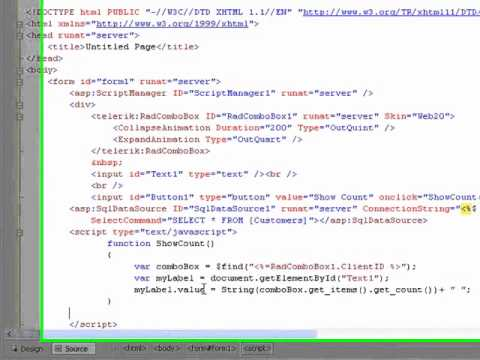 ASPNET AJAX ComboBox ClientSide: Client-side load on demand