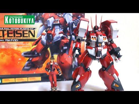 【Super Robot Wars OG】KOTOBUKIYA 1/100 Alteisen wotafa's review from YouTube · Duration:  22 minutes 2 seconds