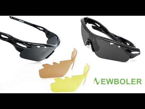 Поляризационные очки для рыбалки со сменными линзами