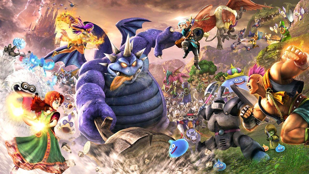 Resultado de imagem para Dragon Quest Heroes II