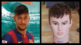 Neymar Updated - Haircut Tutorial - TheSalonGuy