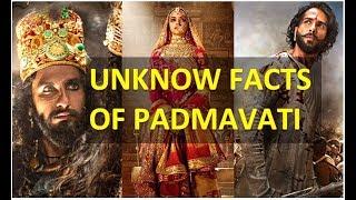 Padmavati | Unknows Facts of Padmavati | Real Padmavati Story | Padmavati Life | Top Ideas