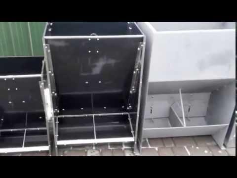 Кормушки для свиней бункерного типа из различных материалов обзор