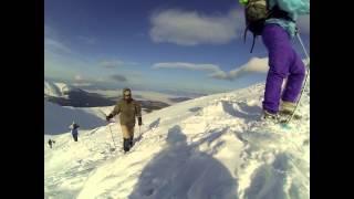 Говерла. Восхождение на Говерлу зимой.(, 2015-02-28T09:08:09.000Z)