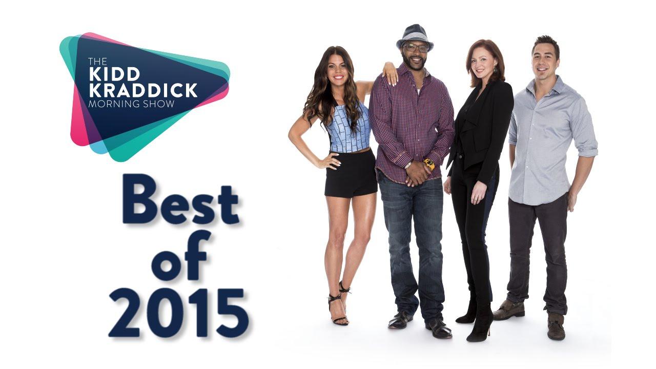 The Best of 2015 - The Kidd Kraddick Morning Show