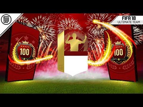 TOP 100 WEEKLY REWARDS!!!!!!! - FIFA 18 Ultimate Team