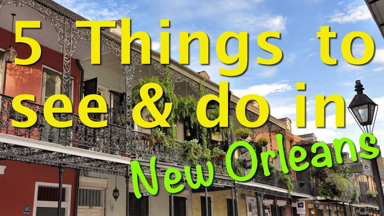 5 unique things to see and do in new orleans youtube for Things not to miss in new orleans