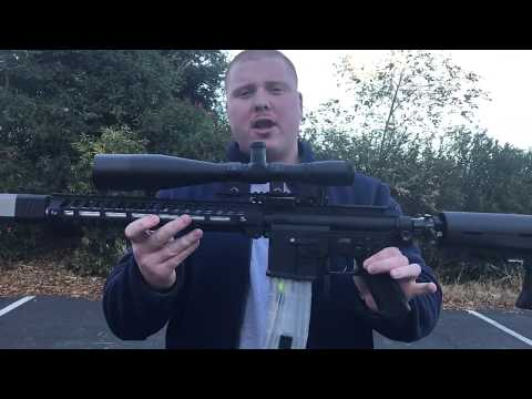 100 Yards Sniper Head Shot Paintball Gun Demo