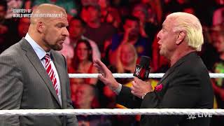 Ric Flair Reveals His Relationship with Vince McMahon and Triple H