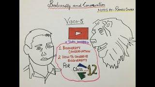 biodiversity and conservation by amit sengupta Mp4 HD Video