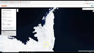 Antarctica updated with Satellite terrain