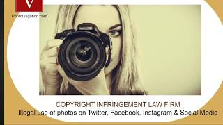 Photo Infringement - No Recovery / No Fee