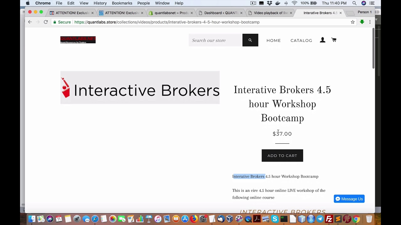 Interactive Brokers Archives - QUANTLABS NET