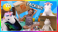KAYLA SHOWS HER SECRET POSSESSIONS | PACKING DAY | We Are The Davises
