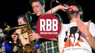 Renegade Brass Band - Let Me Clear My Throat (Live at The Plug, December 2012)