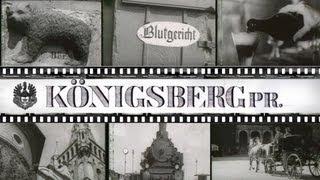 Кёнигсберг до войны. Видео.