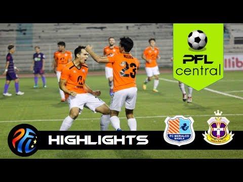 FC Meralco Manila 2 - 1 JPV Marikina FC | Highlights | July 8 | PFL 2017 | PFLcentral