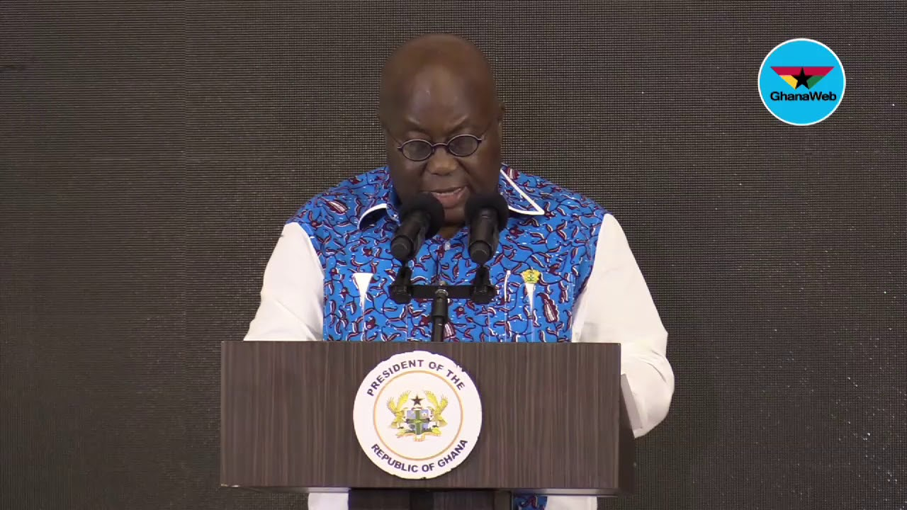Akufo-Addo's full speech at the 'Presidential pitch for start ups'