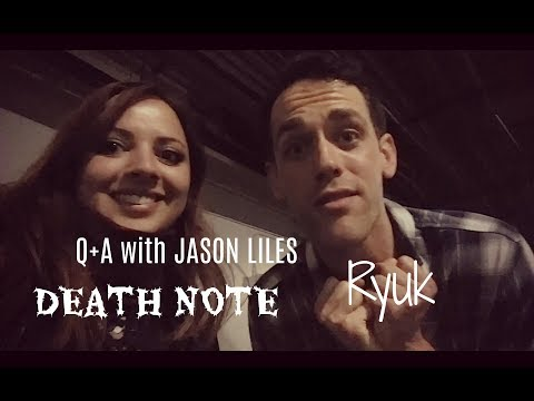 Q+A with Jason Liles Ryuk in Death Note 2017