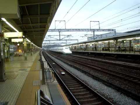 JR Shinkansen : Nozomi (Superexpress) Shin-Yokohama to Osaka