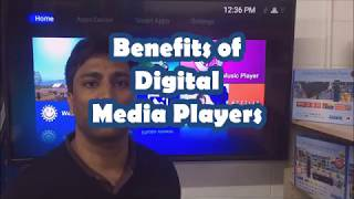 Benefits of Digital Media Players