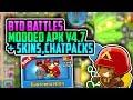   Bloons td Battles Hack v4.7   Modded apk With Skins, Chatpacks, Gold Projectiles   Nov 2017  