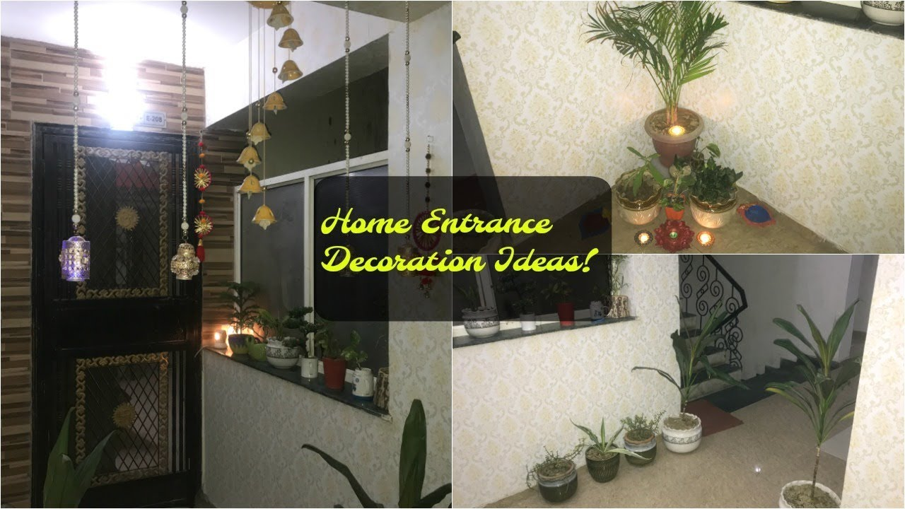 Home Entrance Decoration Ideas For Diwali In Hindi Organizopedia Youtube