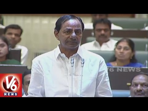 CM KCR Clarifies On 1 Lakh Govt. Jobs, Slams Opposition | TS Assembly | V6 News