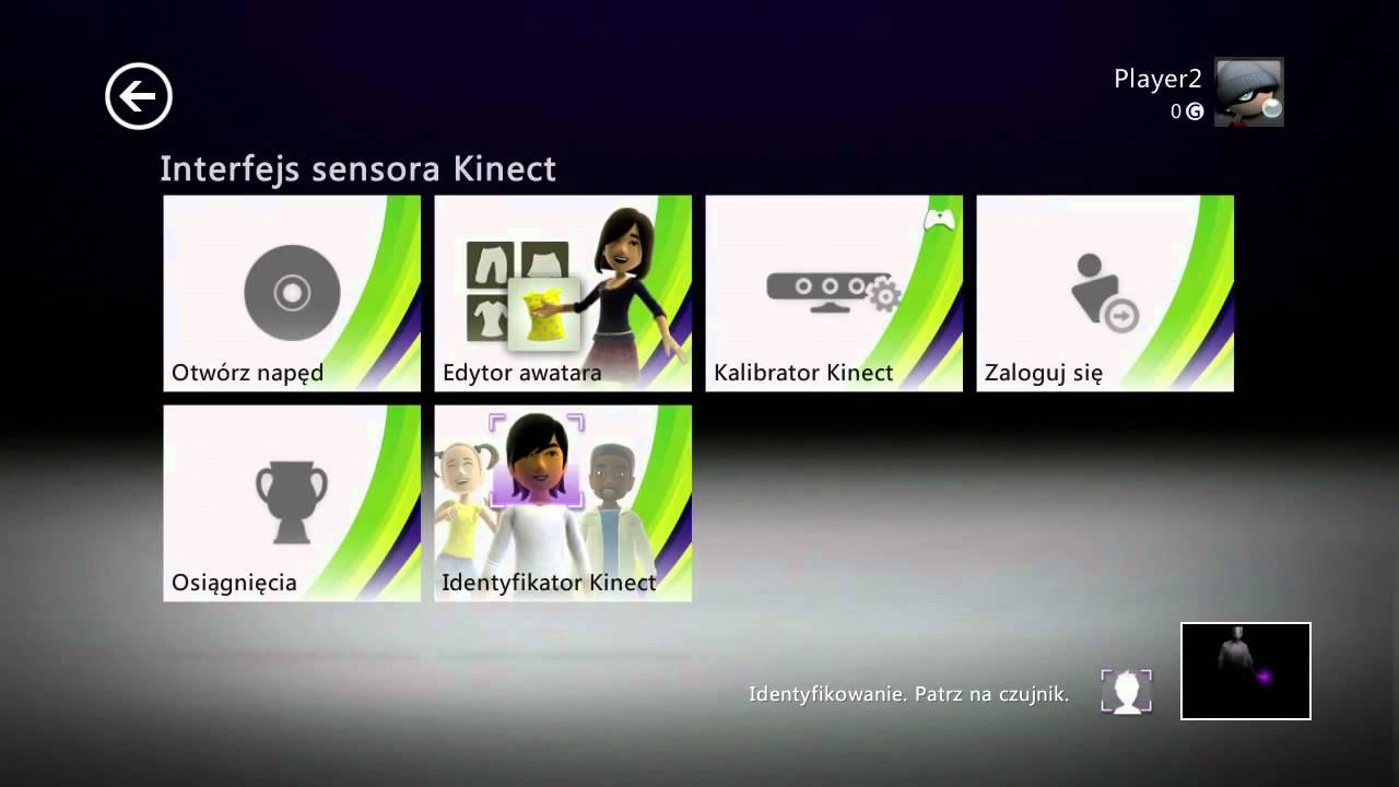 Pierwsze Kroki Z Kinect Dla Xbox 360 Youtube