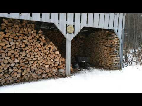 Seasoning and Storing Firewood