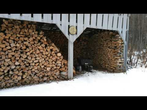 Seasoning and Storing Firewood