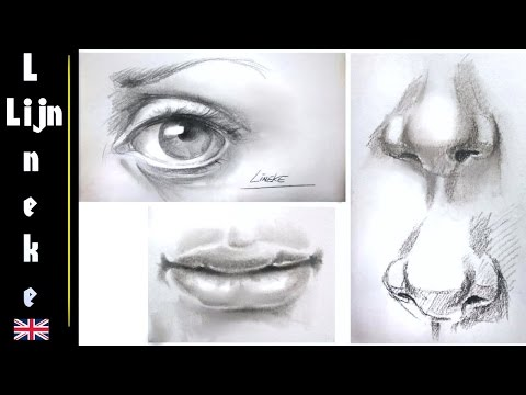 easy-eye-nose-and-mouth-for-beginners-pencil-drawing