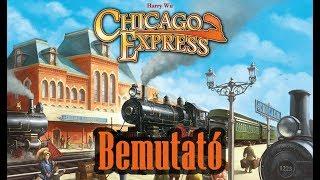 Chicago Express - társasjáték bemutató