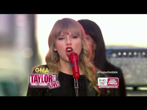 [HD] Taylor Swift - Red (Live) @ GMA 10/23/2012 on ABC