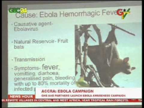 Ebola awareness campaign launched in Accra