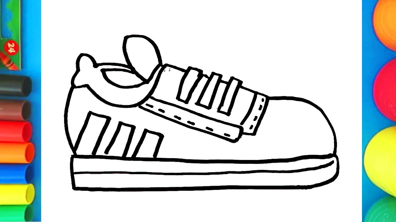How To Draw Sneaker Shoes