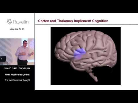 Applied AI meetup #4 - The mechanism of thought
