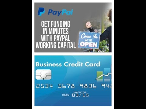 PayPal Working Capital vs Business Credit Card