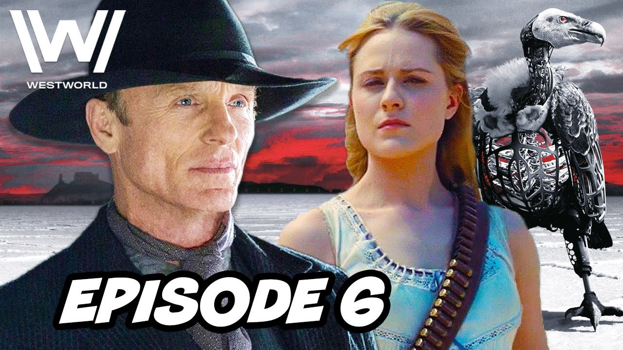 Download Westworld Season 3 Episode 6 HBO - TOP 10 WTF and Easter Eggs