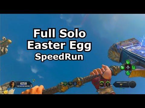 Solo IX Easter Egg Speedrun PS4