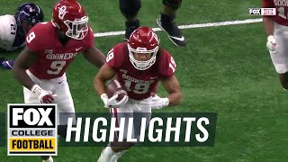 Caleb Kelly scoops up the fumble and goes 18 yards for the score | Highlights | FOX COLLEGE FOOTBALL